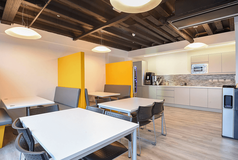 Serviced Office Kitchens
